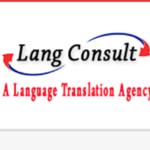 LangConsultTranslationService的公司标识