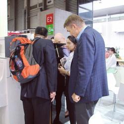 参加上海国际乐器展技术研讨