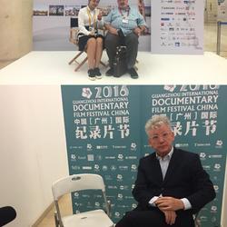 广州国际纪录片节工作照