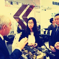陪同公司领导海外出访,提供产品交流的口译。