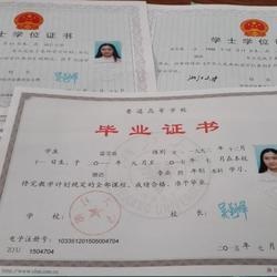 毕业证书1