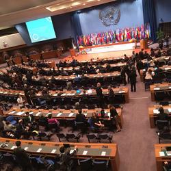 联合国亚太经社会第71届大会之部长级会议