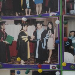 口译菲律宾卡维迪国立大学毕业典礼给家长。