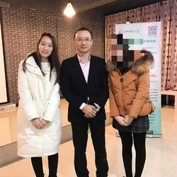 韩刚老师在安工大开设讲座,有幸和韩刚老师合影一张~