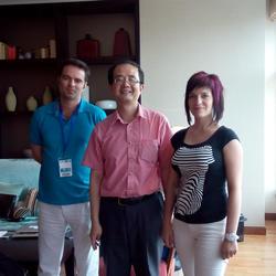 上海浦东嘉里酒店,为立陶宛GameInsight公司财务总监Neil Vereschagin和副总裁-战略伙伴合作Elena Sukhar提供商务口译服务,和若干家中国手游开发商和经销商洽谈今后发展战略伙伴关系,共同开发中国手游市场事宜。