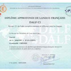 DALF C1证书