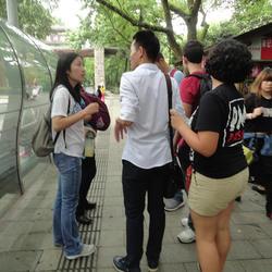 2015年5月,佛罗里达国际大学交换生志愿者,工作性质属于陪同翻译。