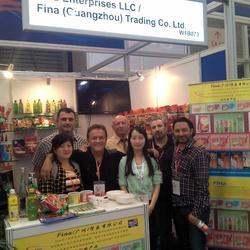 2015年5月5日-7日在上海国际食品展览会为美国Fina食品有限公司做会展翻译