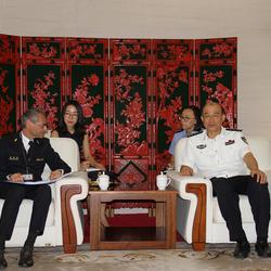 比利时海关署长与中国公安部禁毒局局长双边会谈交替传译