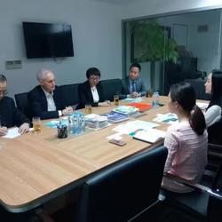美国南丁格尔国际集团和上海浙江温州商会业务推广商务口译
