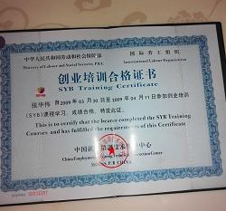 SYB certificate