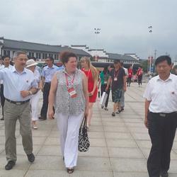 中俄紅色旅游俄方考察團參觀劉少奇同志紀念館
