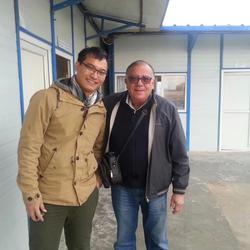 2014年12月 塔吉克斯坦 与国际(土耳其)质量工程师Ufuk先生