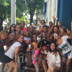 第一次去里約,狂歡節預熱,是作為旅行者去的,見識了里約人的熱情